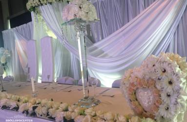 Bröllopscekoration i Kalmarsalen - Drömbröllop för livet