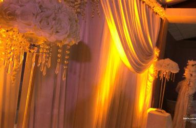 Bröllopsdekorationer och lokal i Göteborg