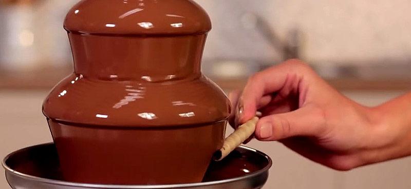 hyra chokladfontän stockholm
