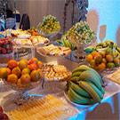 Frukt & chokladfontän